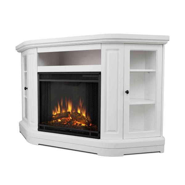 Windom Electric Corner Fireplace by Real Flame 3