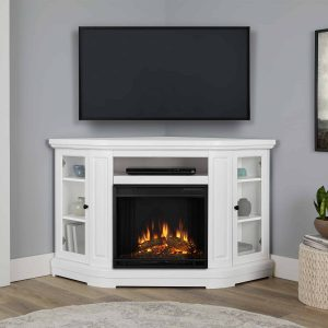 Windom Electric Corner Fireplace by Real Flame