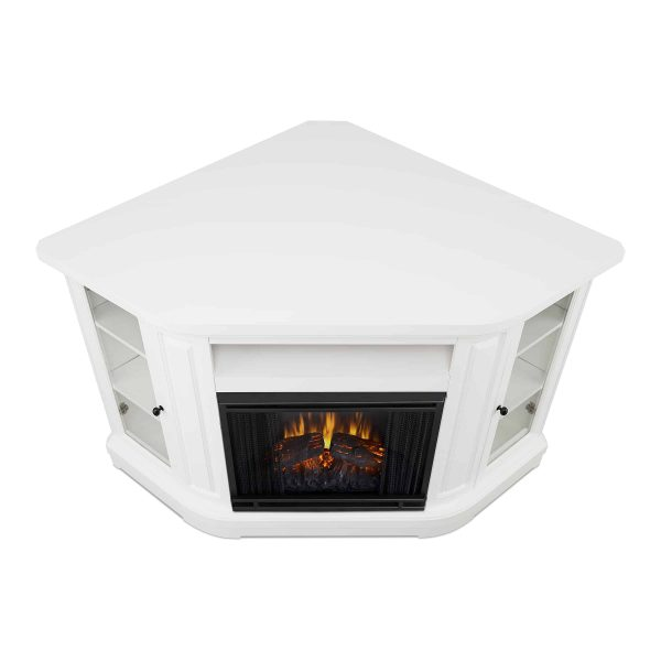 Windom Electric Corner Fireplace by Real Flame 4