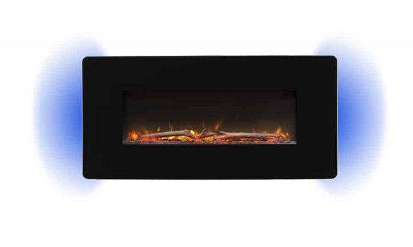 "Winslow 36"" Wall-mount/Tabletop Linear Fireplace by C3 1"