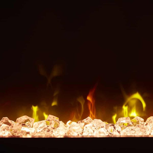 "Winslow 36"" Wall-mount/Tabletop Linear Fireplace by C3 3"