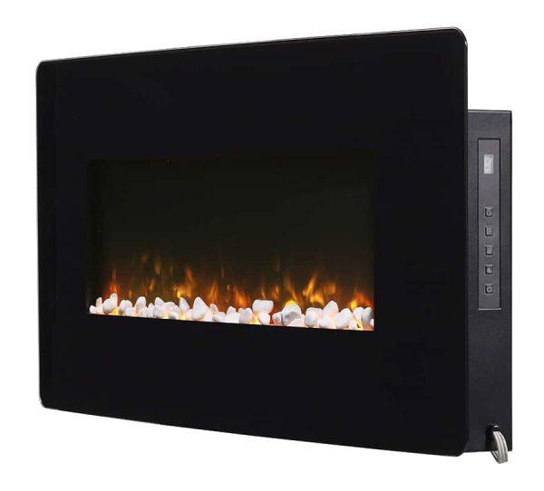 "Winslow 36"" Wall-mount/Tabletop Linear Fireplace by C3 4"