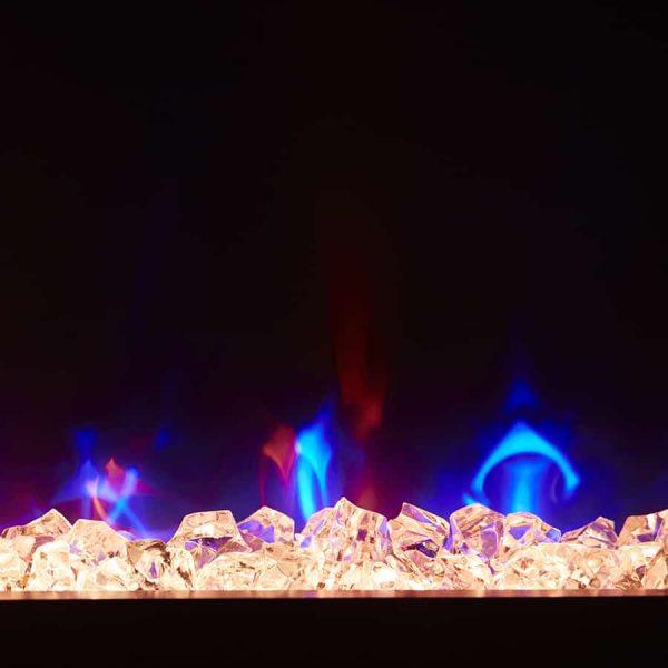 "Winslow 36"" Wall-mount/Tabletop Linear Fireplace by C3 5"