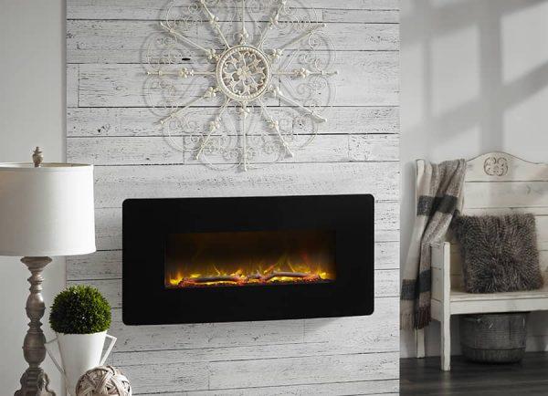 "Winslow 36"" Wall-mount/Tabletop Linear Fireplace by C3 6"