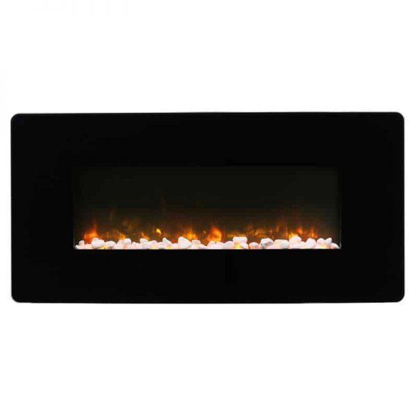 "Winslow 36"" Wall-mount/Tabletop Linear Fireplace by C3"