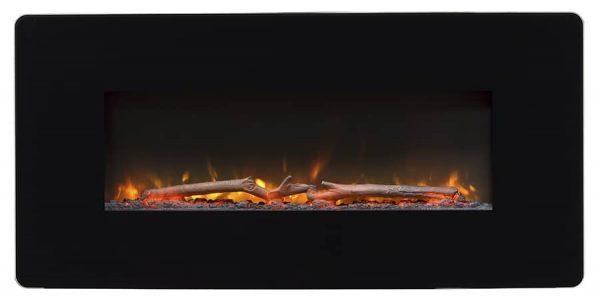 "Winslow 36"" Wall-mount/Tabletop Linear Fireplace by C3 9"