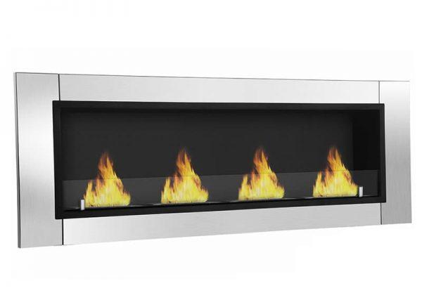 Wraith Ventless Bio Ethanol Wall Mounted Fireplace