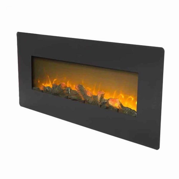 ZOKOP SF310-42AX 42 Inch 1400W Wall Hanging / Fireplace Single Color / Fake Wood / Heating Wire / With Small Remote Control Black 1
