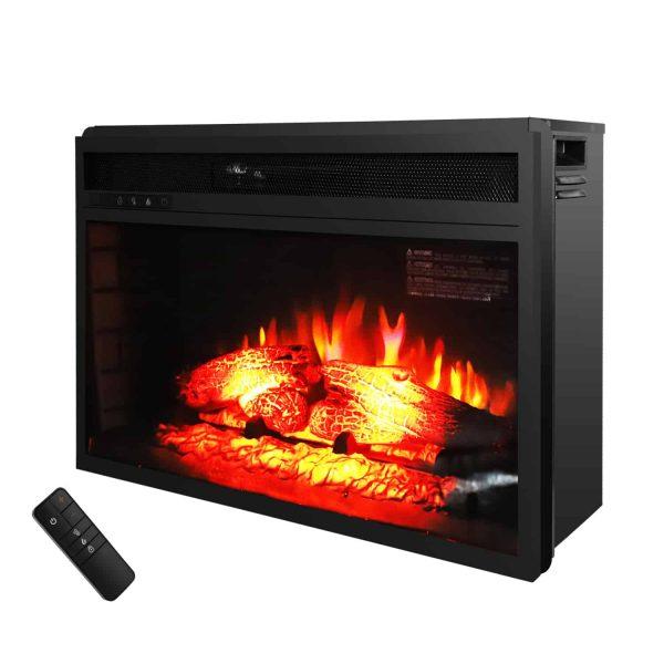 """Zimtown Room 1500W 26"""" Fireplace w/Remote Control"""