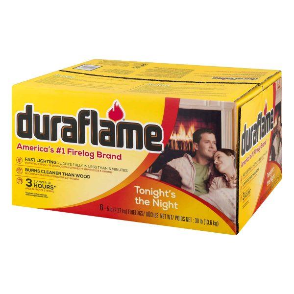 duraflame® 5lb 3-hr Firelog – 6 pk 2