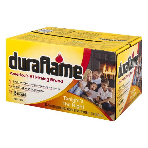 duraflame® 6pk 4lb 3-hr Firelog 2