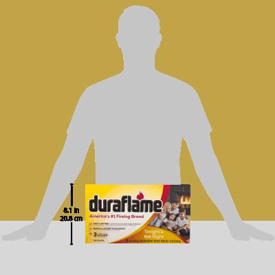 duraflame® 6pk 4lb 3-hr Firelog 4