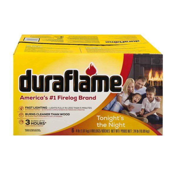 duraflame® 6pk 4lb 3-hr Firelog