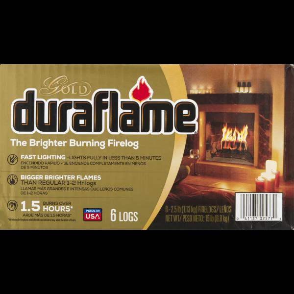 duraflame® The Brighter Burning Firelog Gold, 2.5 LB 1