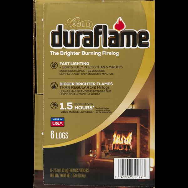 duraflame® The Brighter Burning Firelog Gold, 2.5 LB 2