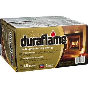 duraflame® The Brighter Burning Firelog Gold