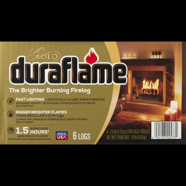 duraflame® The Brighter Burning Firelog Gold, 2.5 LB 3