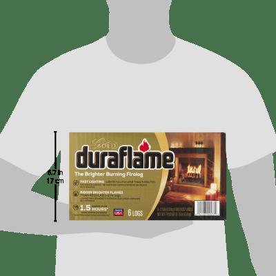 duraflame® The Brighter Burning Firelog Gold, 2.5 LB 5
