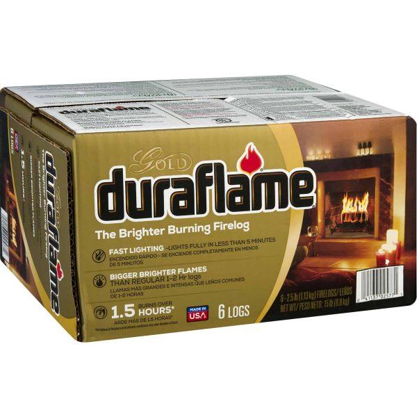 duraflame® The Brighter Burning Firelog Gold