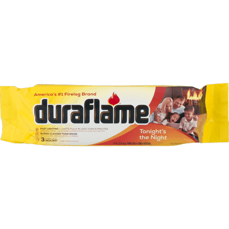 duraflame 3 Hour Firelog, 4 Lbs. 1