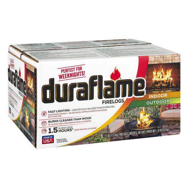 duraflame 6pk 2.5lb 1.5-hr Firelog 1