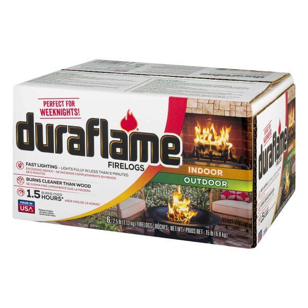 duraflame 6pk 2.5lb 1.5-hr Firelog 2