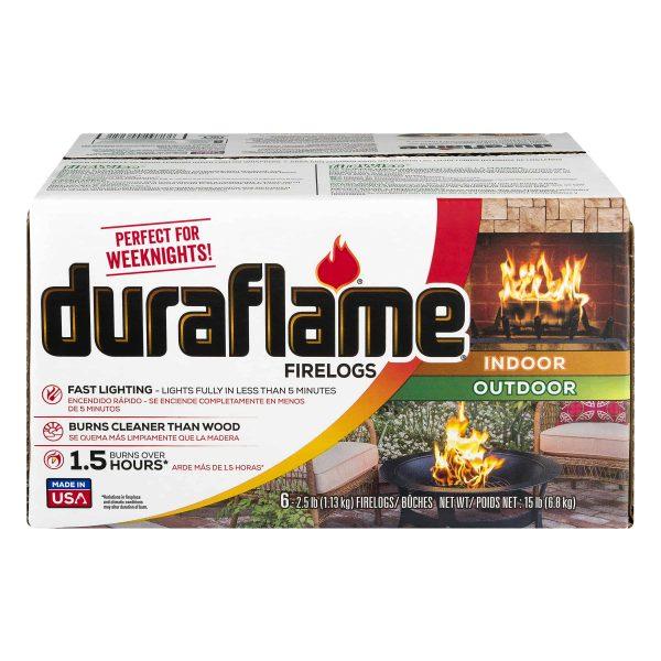 duraflame 6pk 2.5lb 1.5-hr Firelog