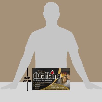 duraflame Gold Ultra Premium 4.5lb 3-hr Firelog 6 pack case 1