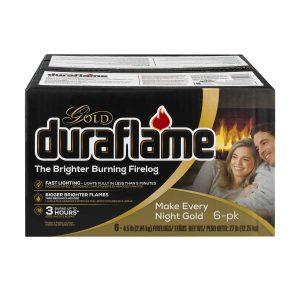 duraflame Gold Ultra Premium 4.5lb 3-hr Firelog 6 pack case
