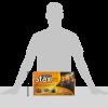 duraflame Stax Stackable Crackling Firelogs Indoor & Outdoor 14