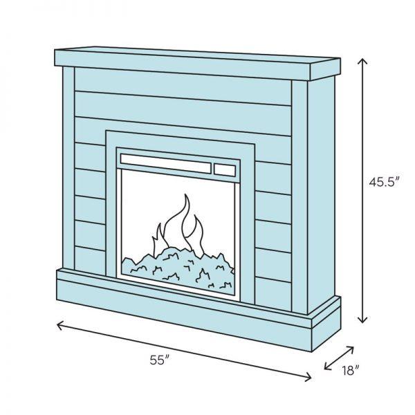 Napoleon Electric Fireplace 4